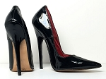 Hot Peppers Pointed Pumps - sz7.5