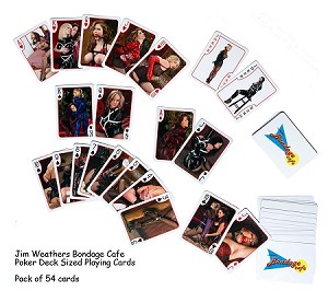 Collectable Deck of 52 Bondage Playing Cards